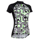 Primal Womens A-Maze-Ing Short Sleeve Jersey
