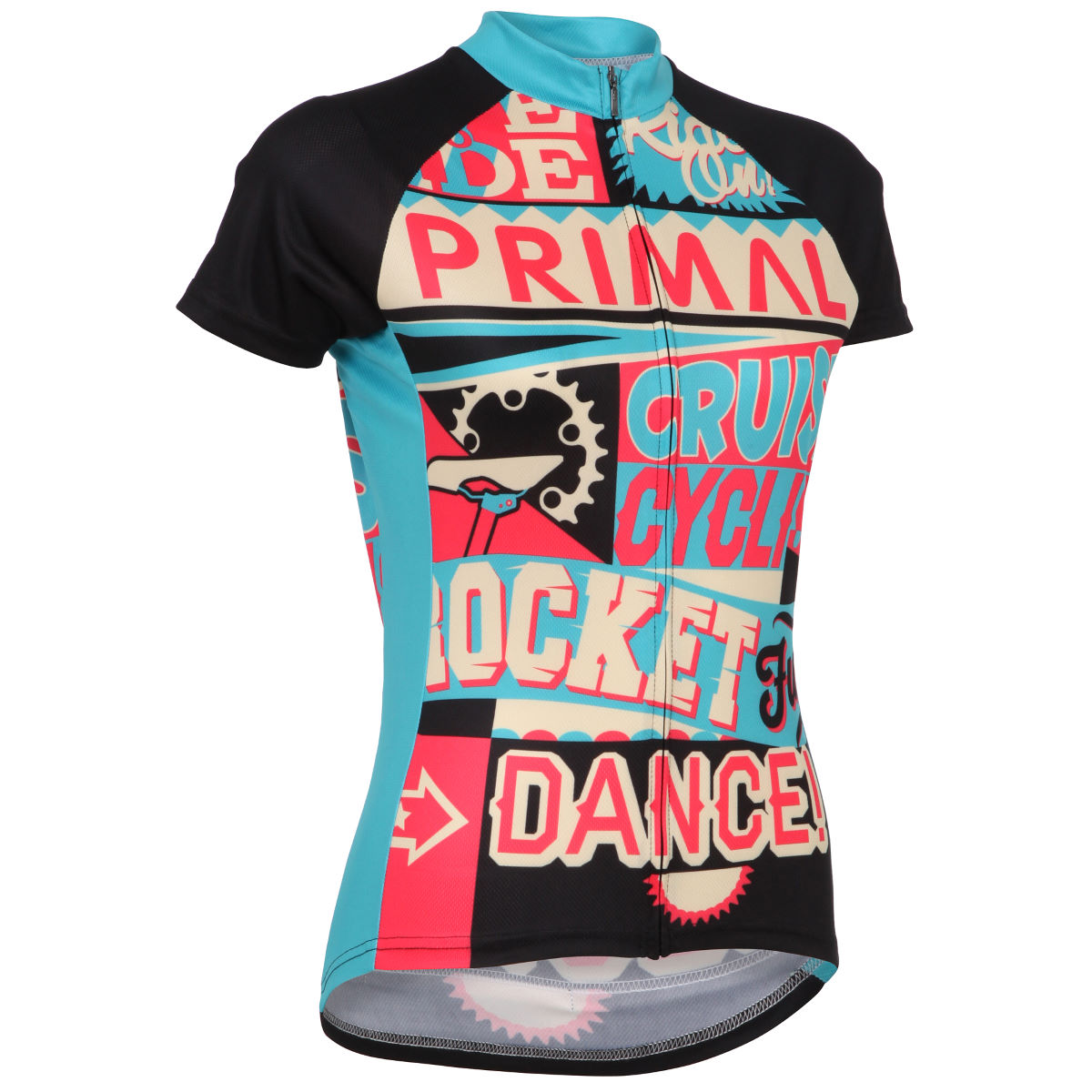 Maillot Femme Primal RideOn (manches courtes) - XXL Multicolore