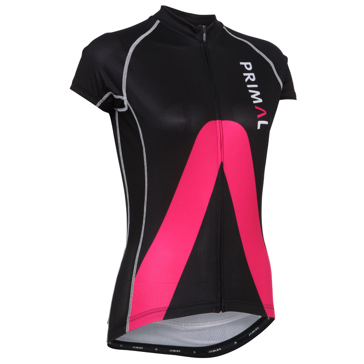 Primal Women's Aro Evo Short Sleeve Jersey - Small Black/Pink