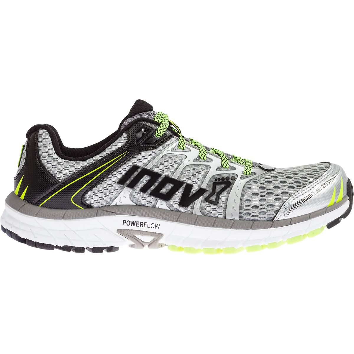 Chaussures Inov-8 Roadclaw 275 (AH16) - 11 UK Silver/Grey Chaussures de running amorties