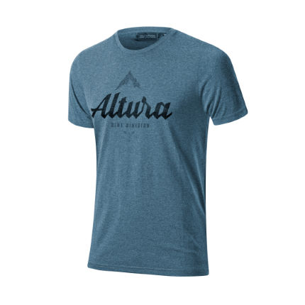 Altura Script Short Sleeve T-shirt (Blue)