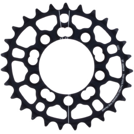 Rotor QX2 MTB Chainring (Outer, for 2x Systems)