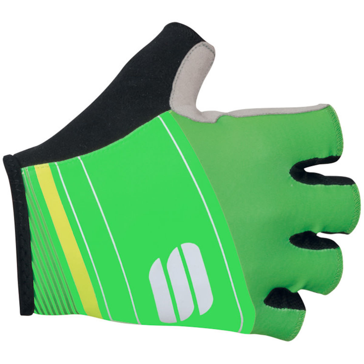 Gants courts Sportful Gruppetto Pro - XL Green/Yellow Gants courts