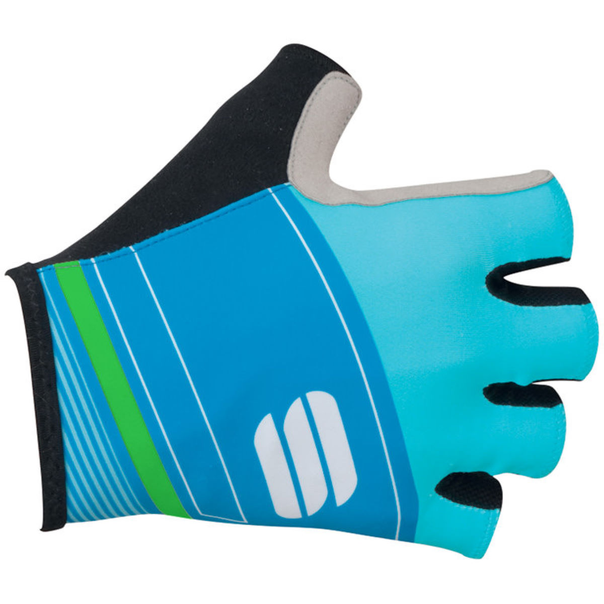 Gants courts Sportful Gruppetto Pro - XL Blue/Green Gants courts