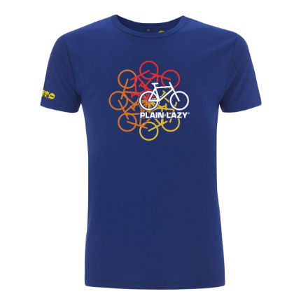 Camiseta Plain Lazy Cycle Of Life Bamboo