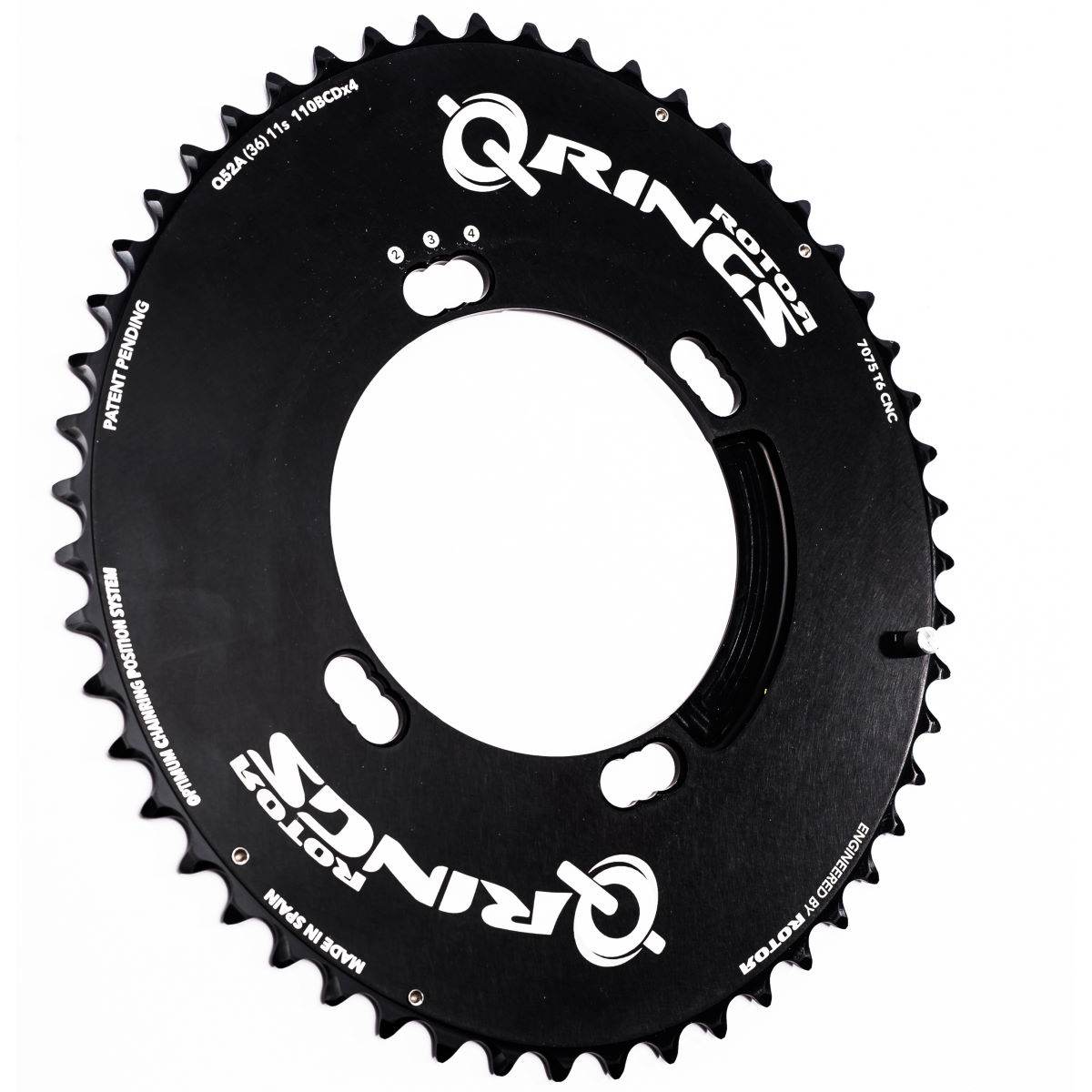 Rotor Q Chainring (Outer, Aero - Shimano)