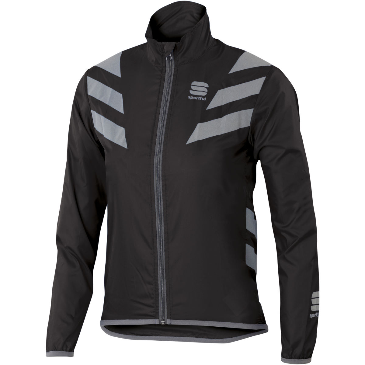 Veste Enfant Sportful Reflex - 14 years Noir Coupe-vents vélo