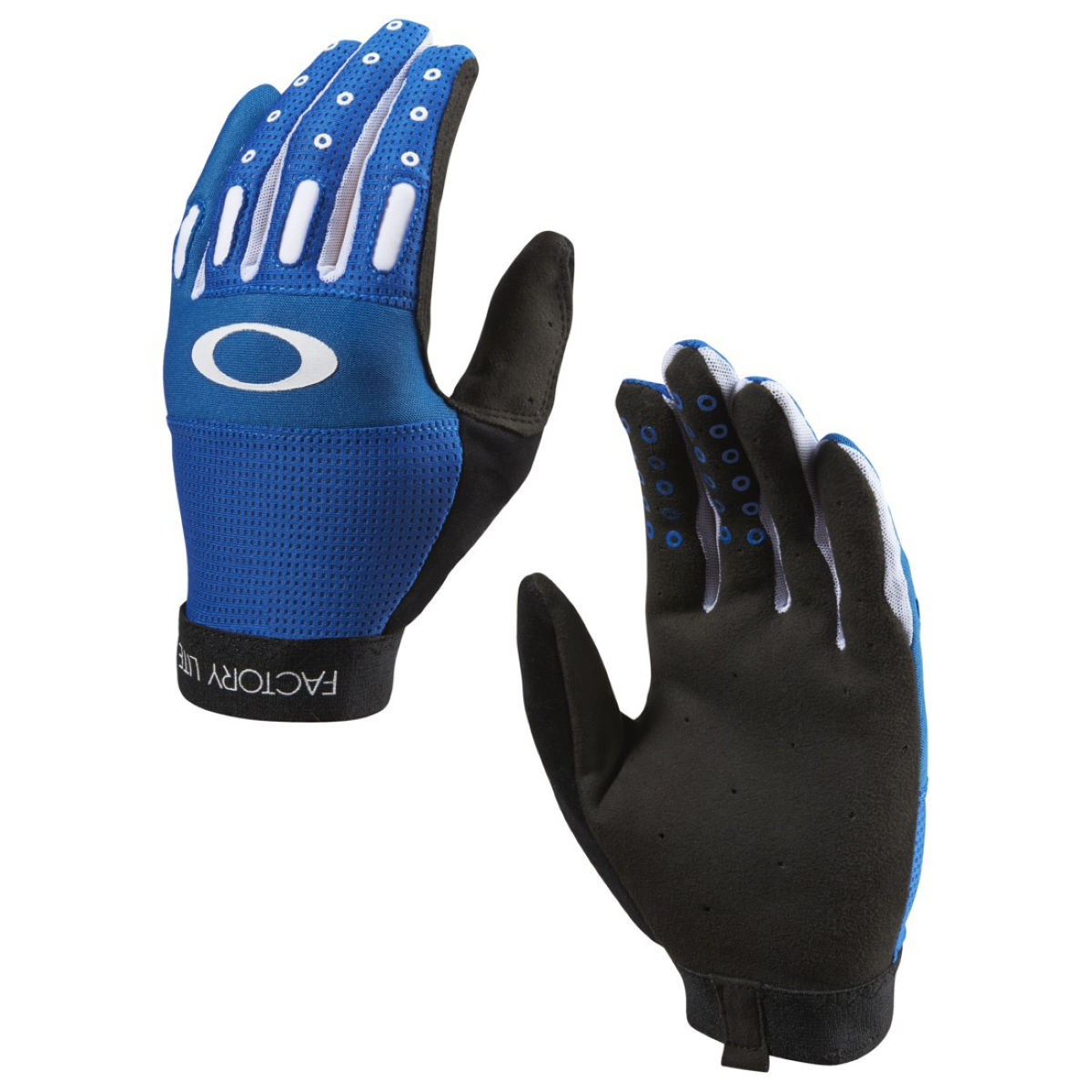 Oakley Factory Lite 2.0 Long Finger Gloves - X Small Blue