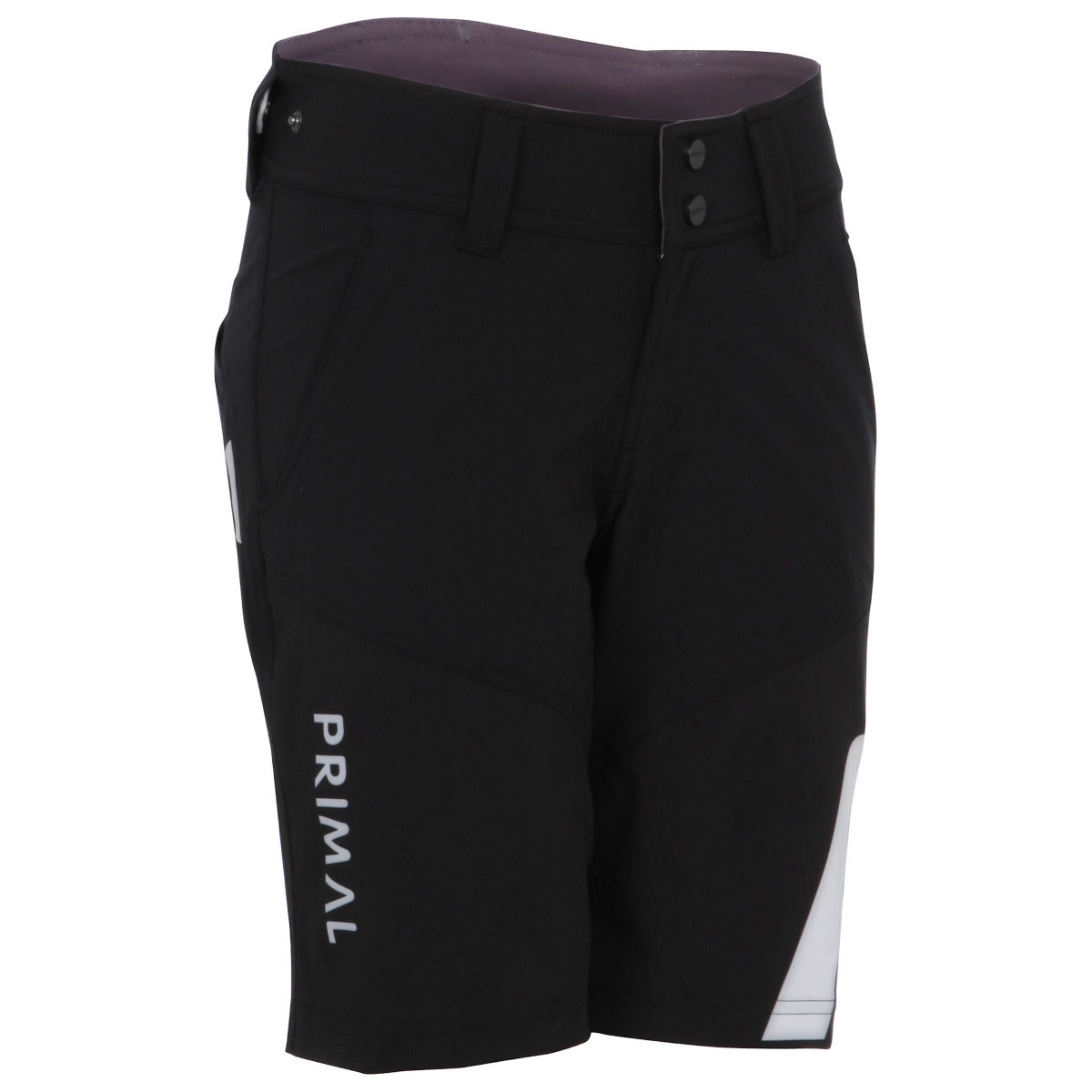Short Femme Primal Onyx Escade (coupe ample) - M Noir Shorts amples
