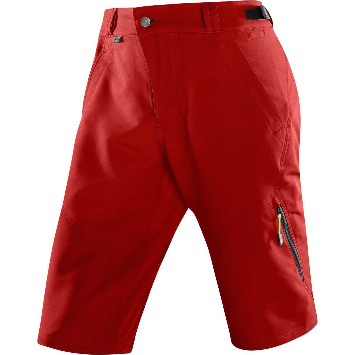 Short Altura Attack One 80 - S Rouge Shorts VTT