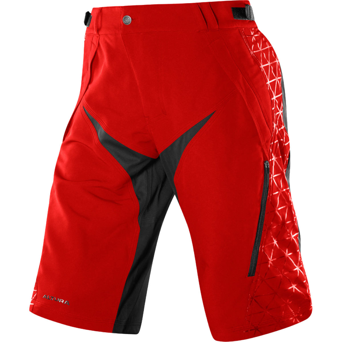 Short Altura Attack Three 60 Shield - S Rouge Shorts amples