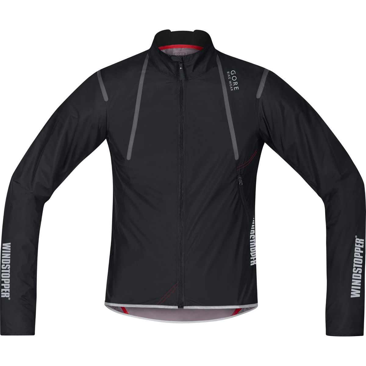 Gore Bike Wear Oxygen Windstopper Active Shell Light Jacket - Black