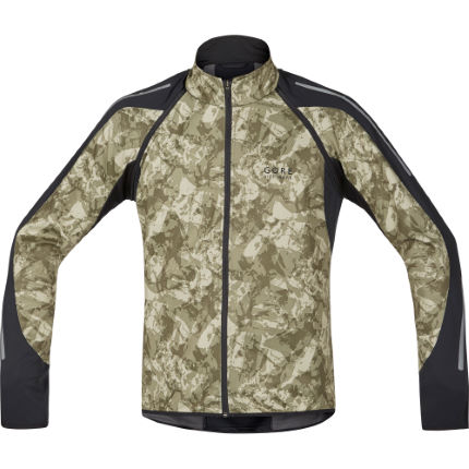 Gore Bike Wear Phantom Print 2.0 Windstopper Softshell Jacka - Herr