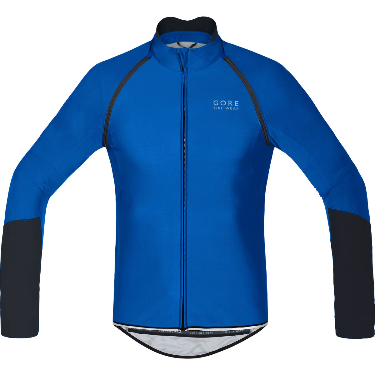 Maillot Gore Bike Wear Power Windstopper Softshell (zippé) - S Bleu
