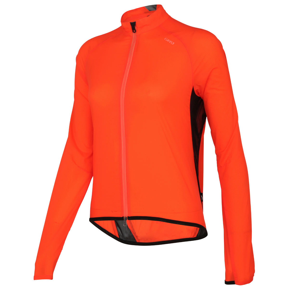 Veste Femme Giro Chrono Wind - M Orange Coupe-vents vélo