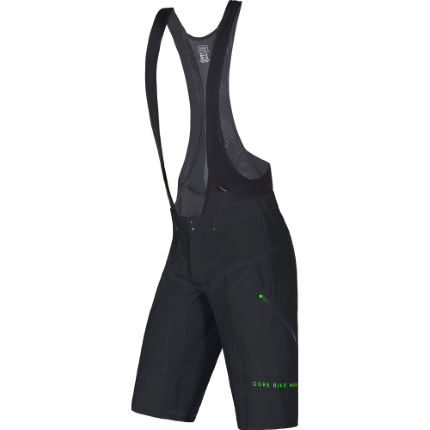 Cuissard court à bretelles Gore Bike Wear Power Trail + (2 en 1)
