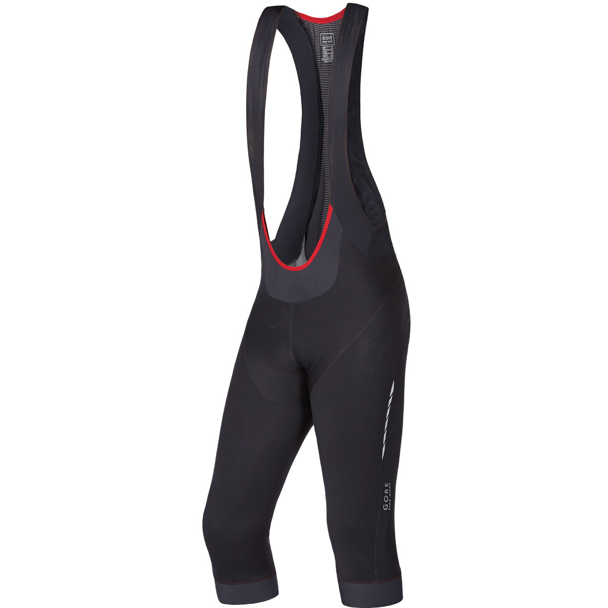 Gore Bike Wear Oxygen Windstopper Softshell 3/4 Bib Tights+ - Large