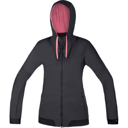 Gore Bike Wear Power Trail Windstopper Kapuzenjacke Frauen