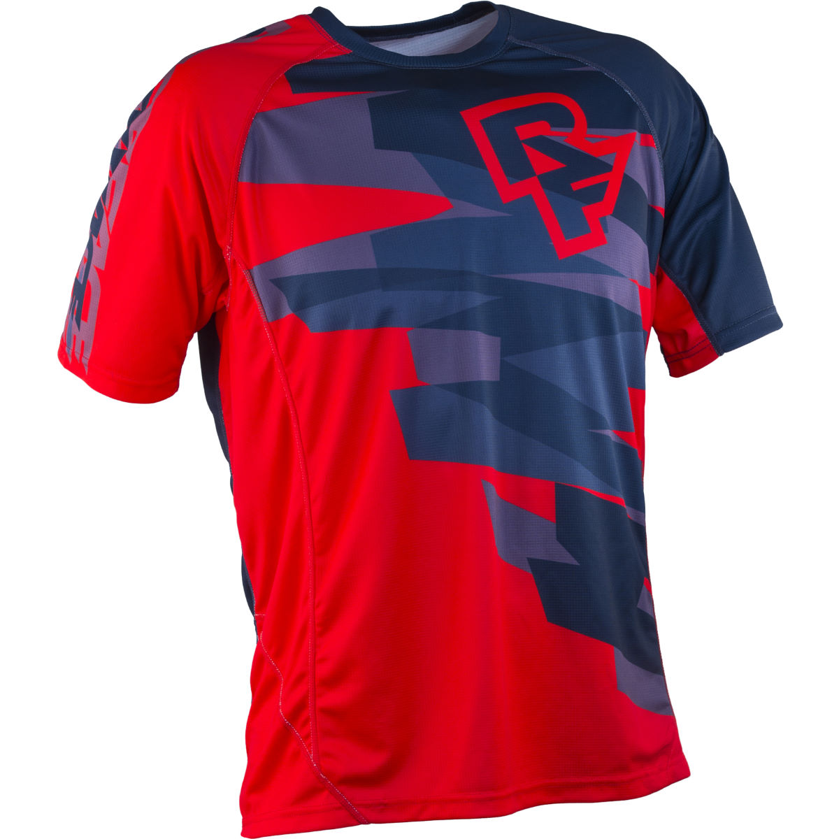 Maillot Race Face Indy (manches courtes, PE16) - S Rouge Maillots