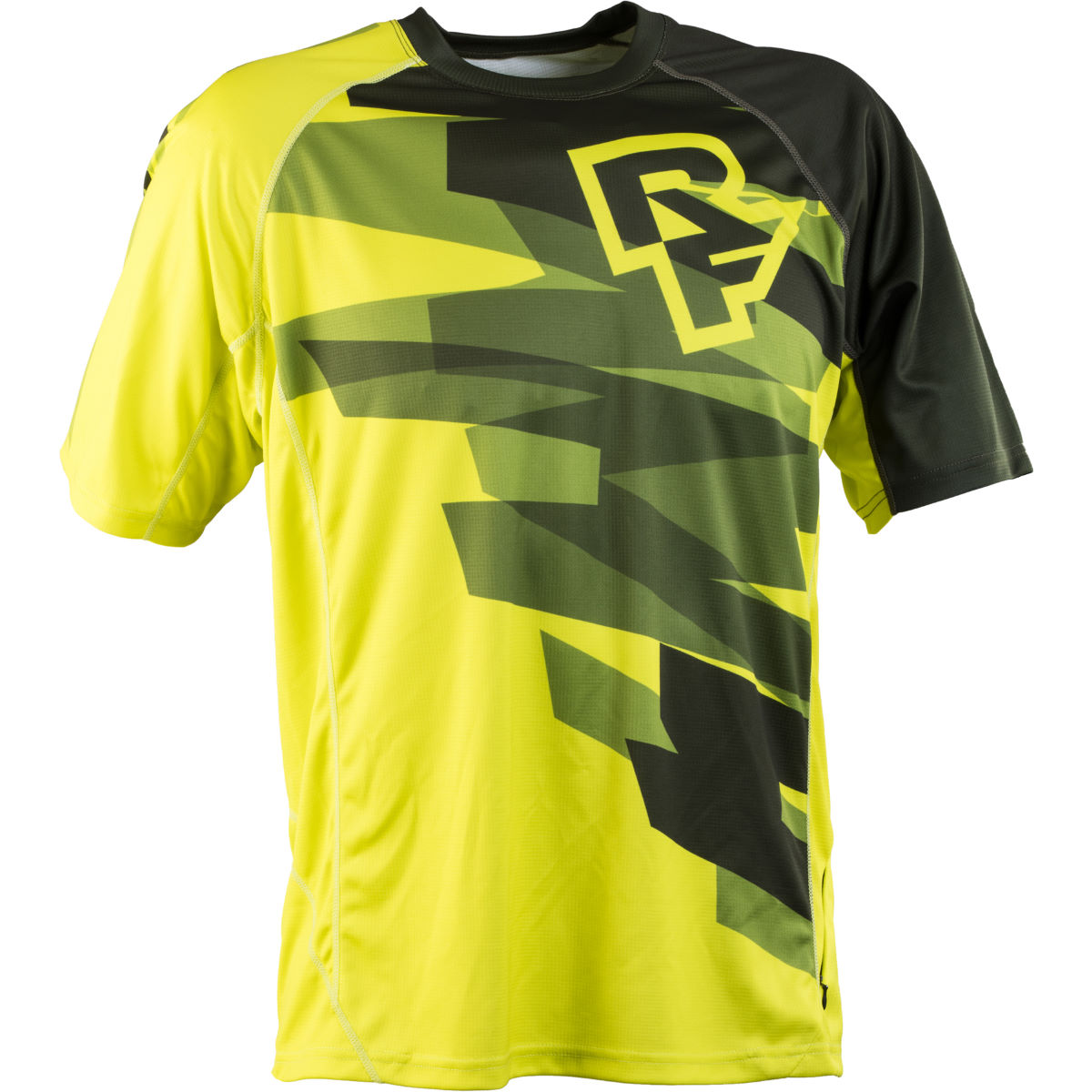 Maillot Race Face Indy (manches courtes, PE16) - S Jaune Maillots