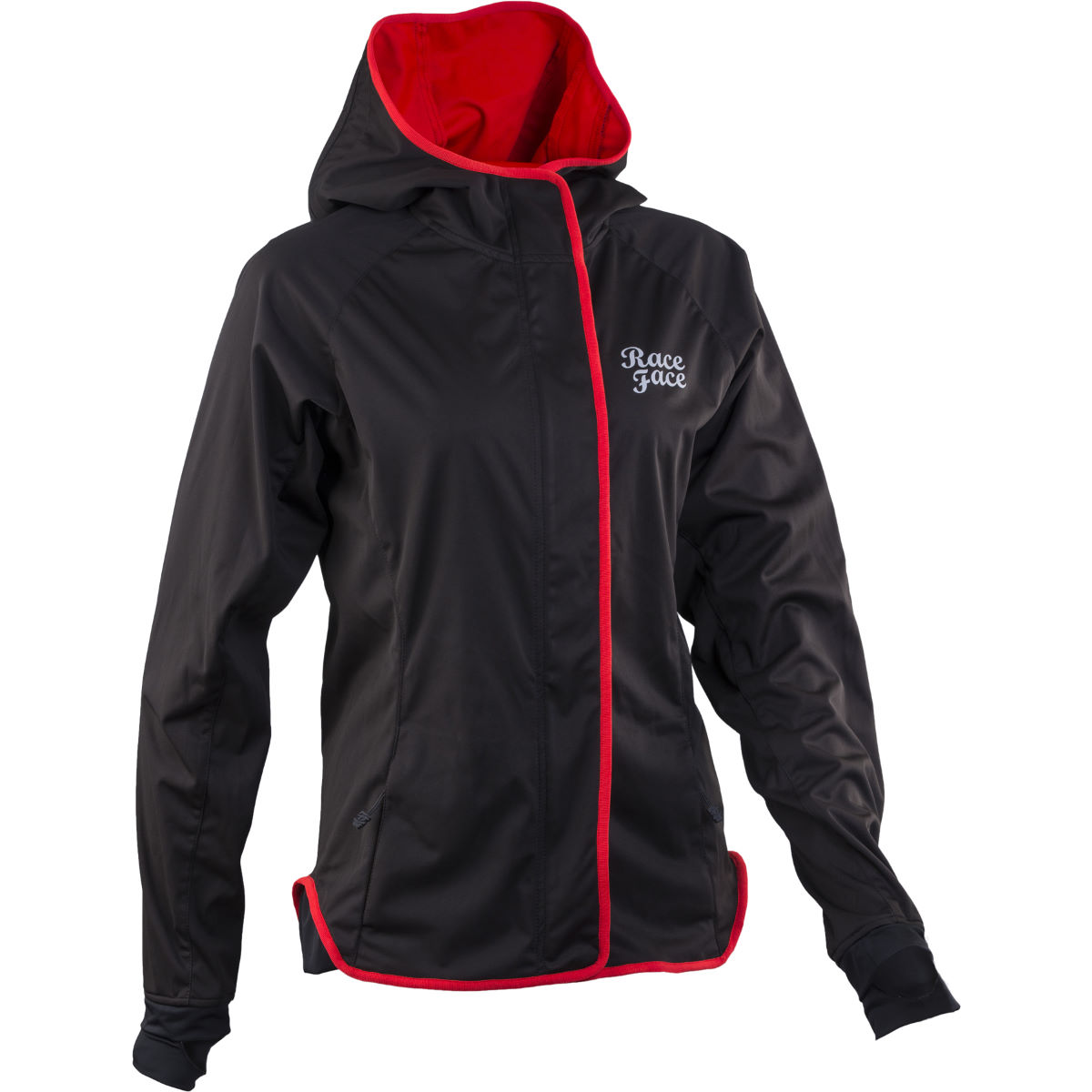 Veste Femme Race Face Scout Softshell - XL Noir Coupe-vents vélo