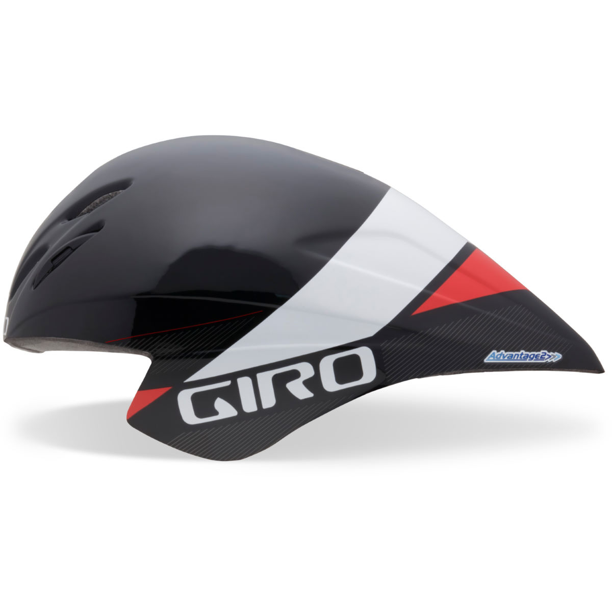 Casque de contre-la-montre Giro Advantage (2015) - Small 51-55cm Black/White/Red Casques de route