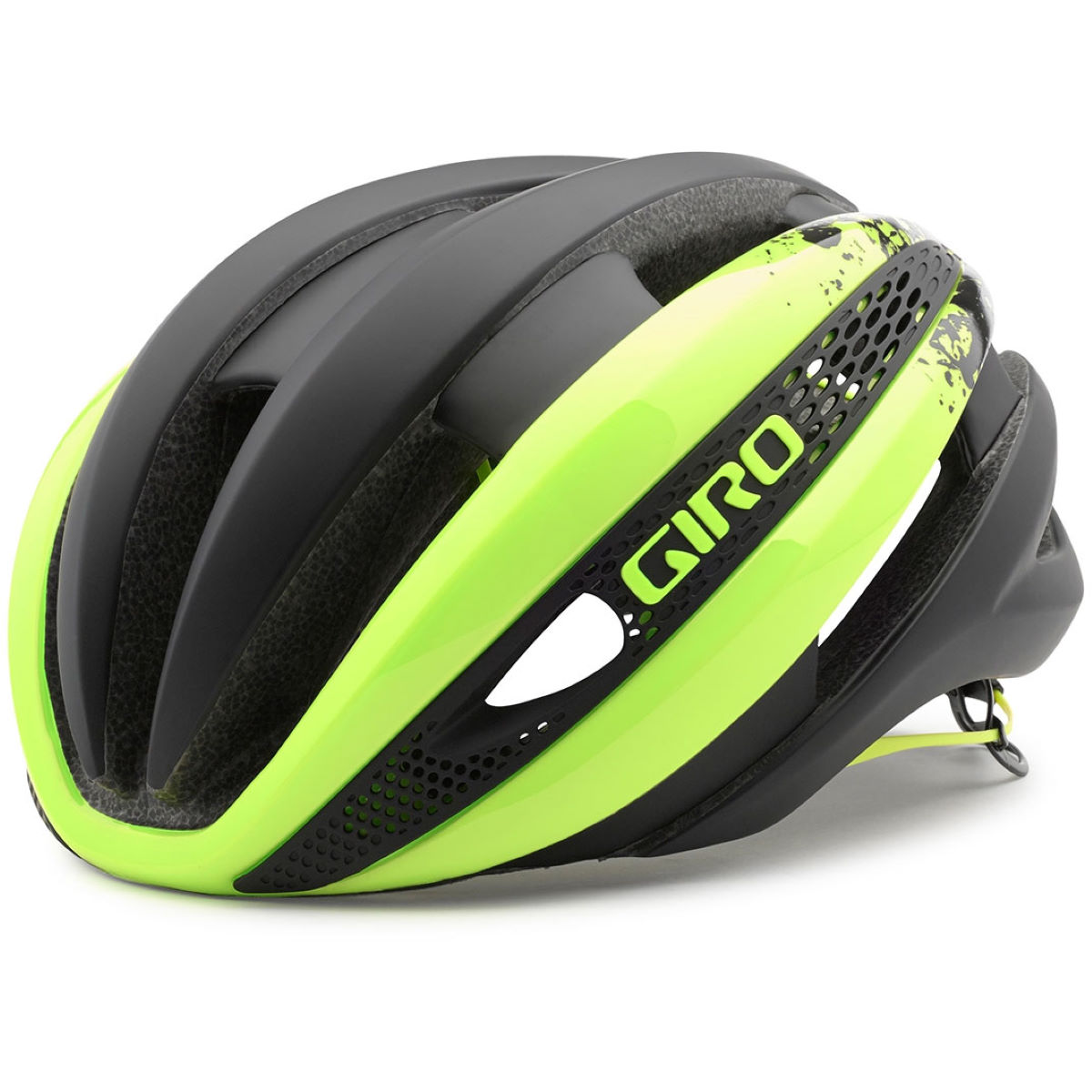 Casque Giro Synthe (2015) - Small 51-55cm Yellow/Matt Black Casques de route