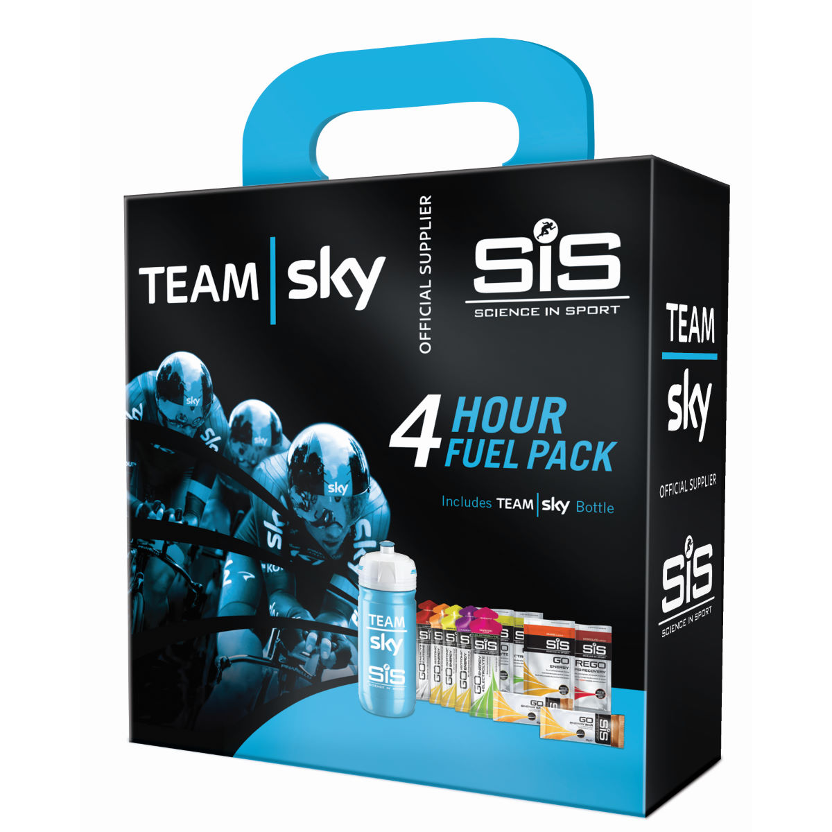 Pack de course Science in Sport Team Sky (4 heures) - Mixed