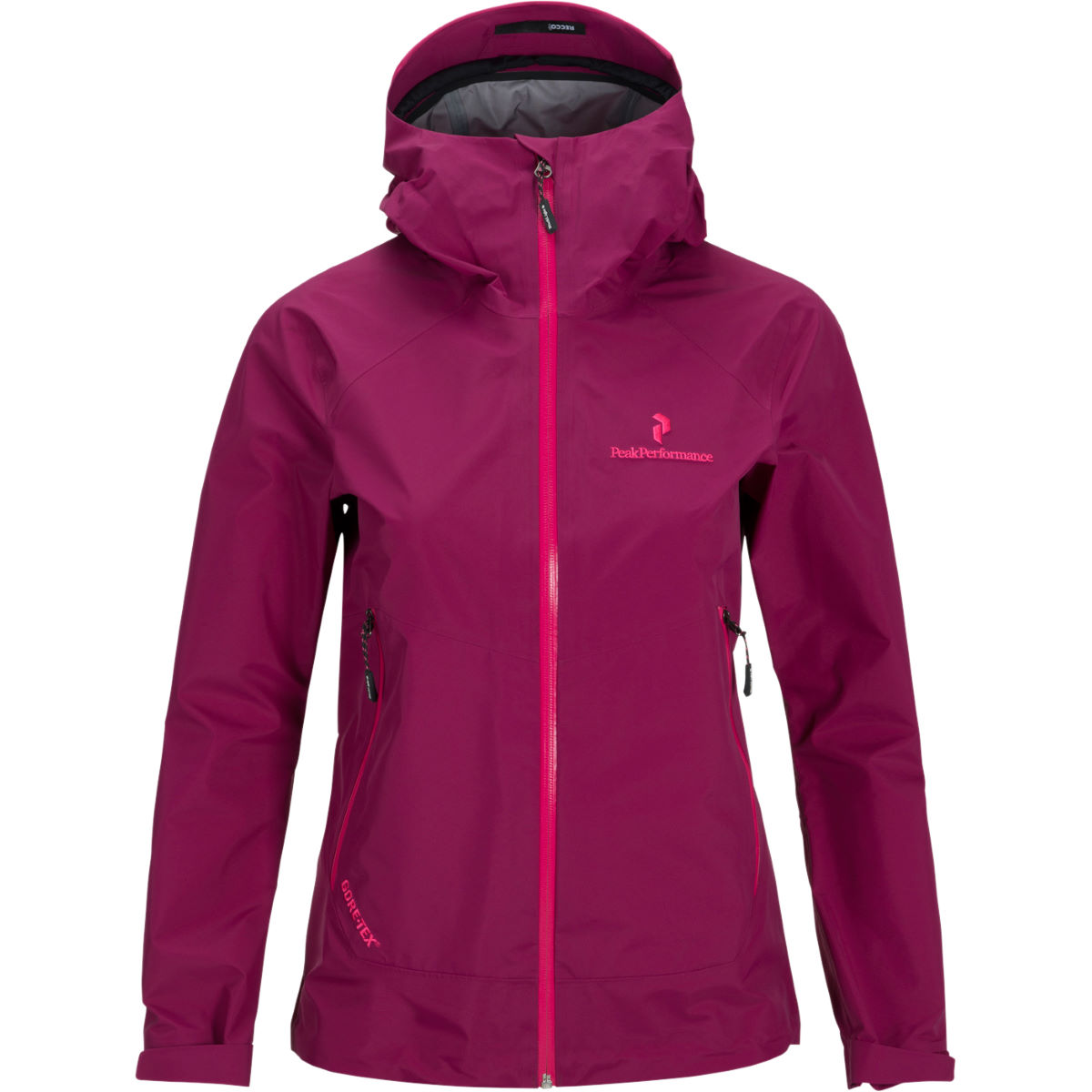 Peak Performance Women's Black Light 3 Layer Jacket (SS16) - Small