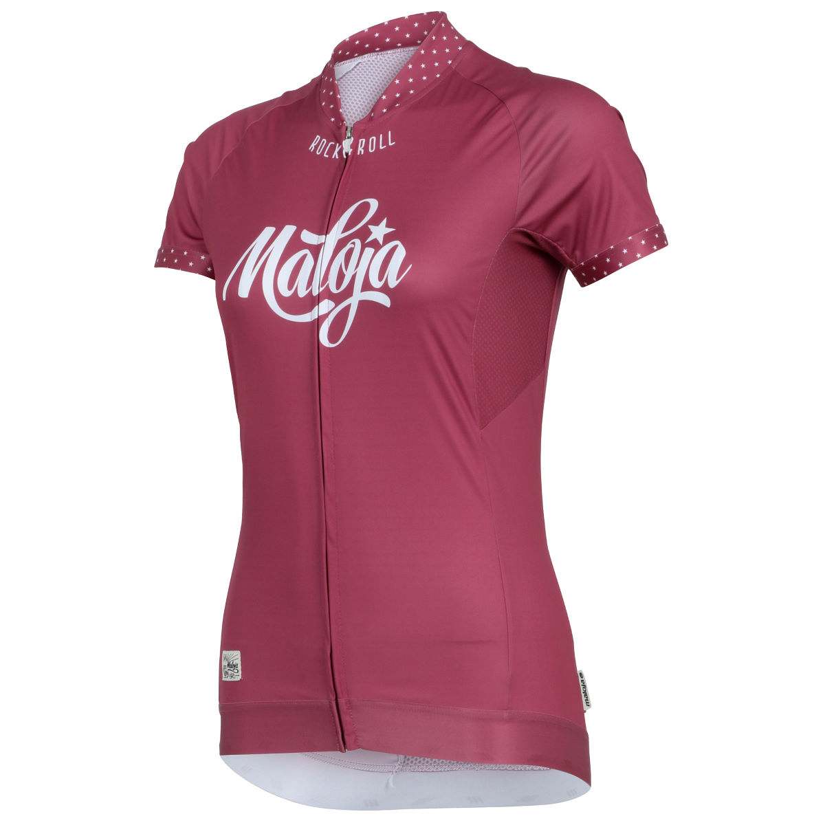 Maillot Femme Maloja HollyM. (manches courtes) - S Rose