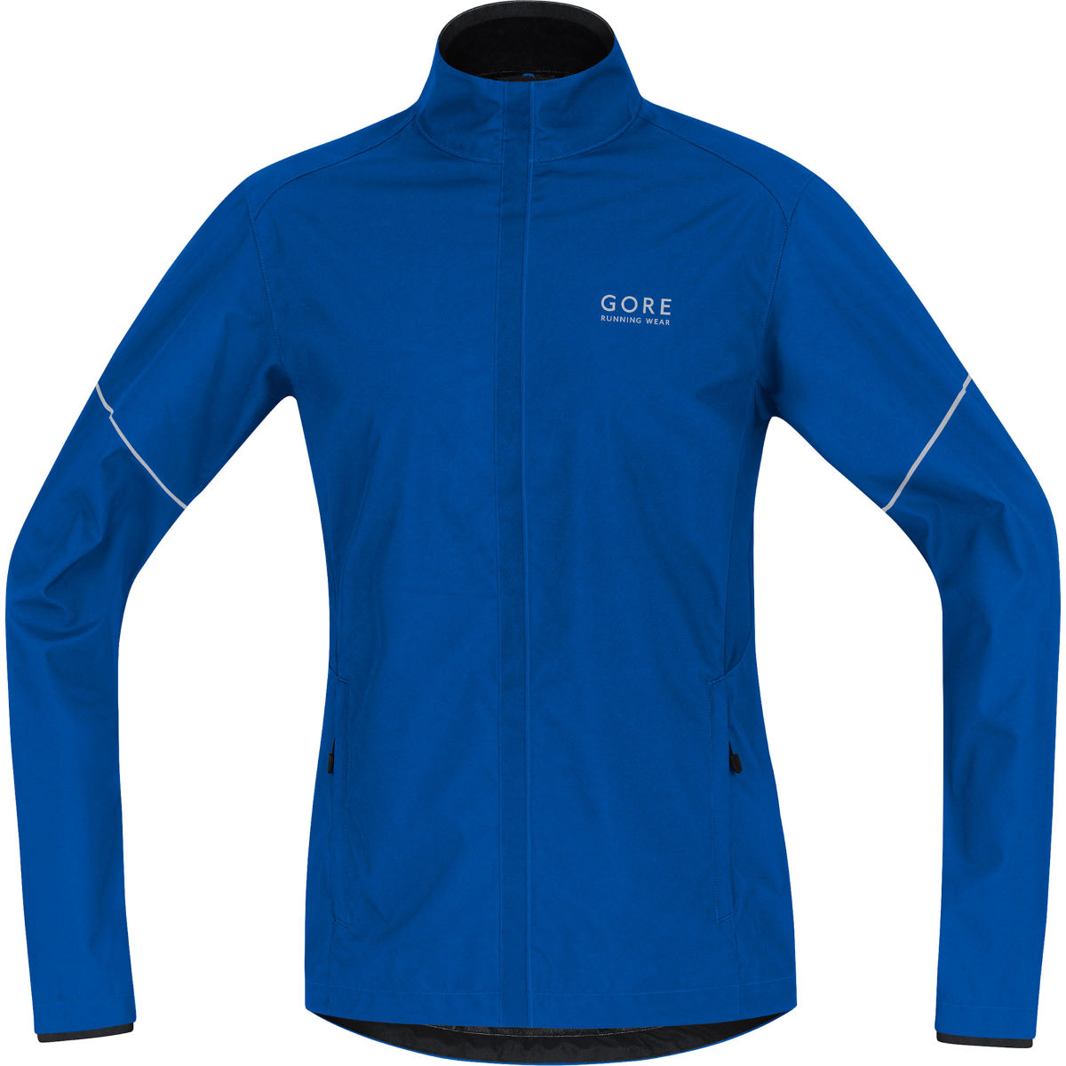 Veste Gore Running Wear WINDSTOPPER® Active Shell Partial (AH16) - S Brilliant Blue Vestes de running coupe-vent