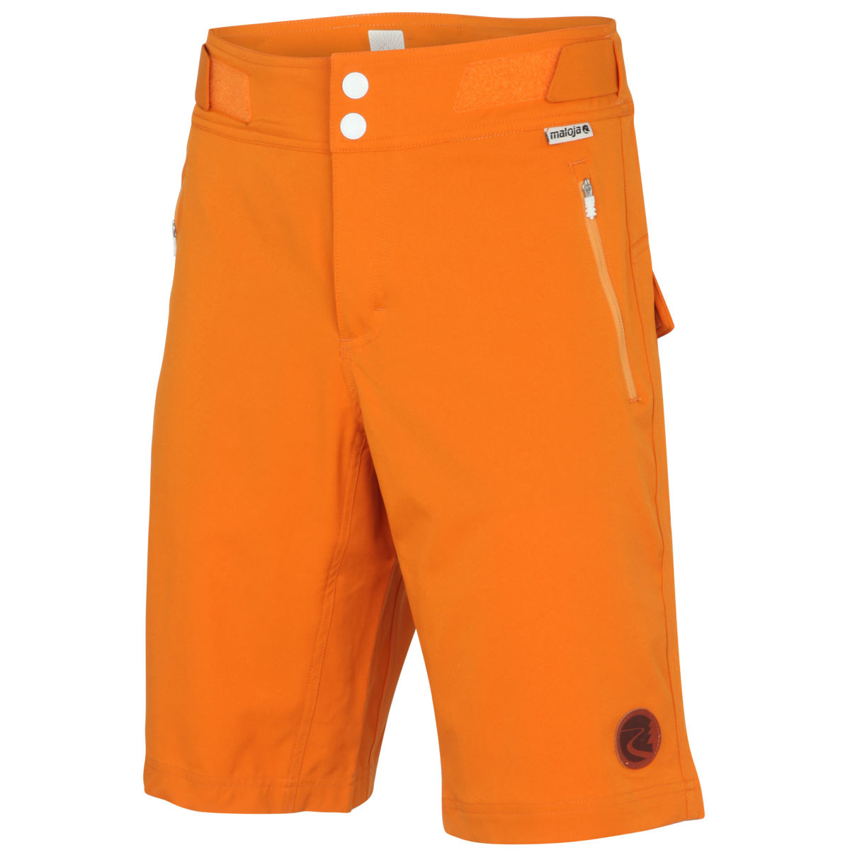 Short VTT Maloja DaveM. - L Orange Shorts VTT