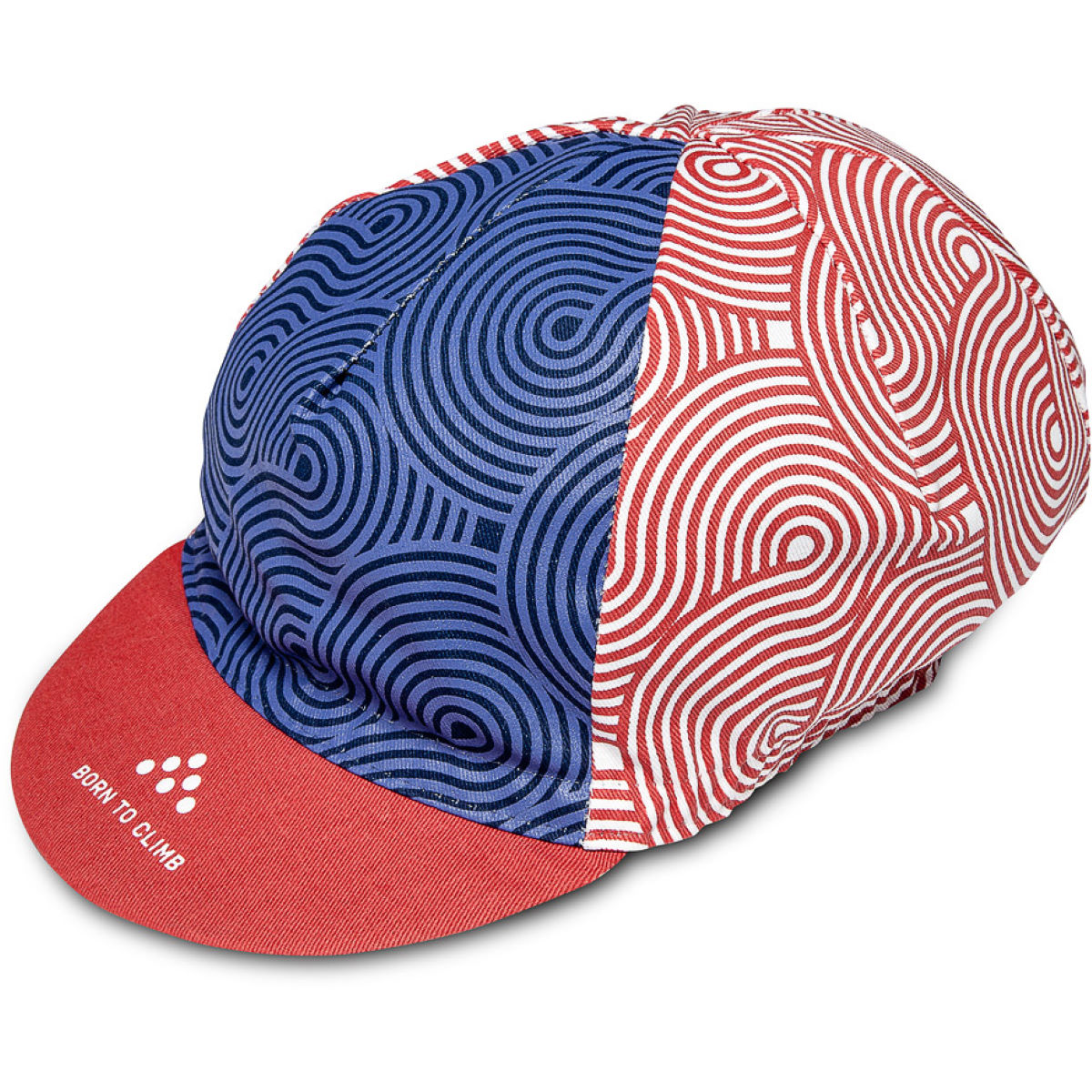 Casquette Isadore Albula Climbers - Taille unique Blue/Red