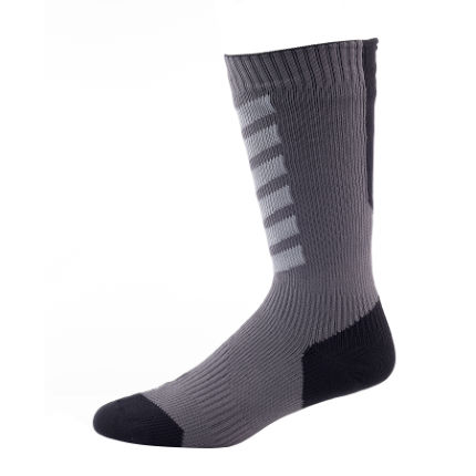 Calcetines de MTB SealSkinz Hydrostop Thin (caña media)