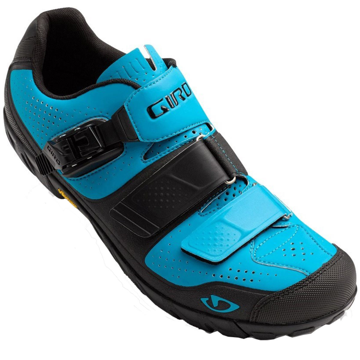 Chaussures VTT Giro Terraduro - 40 Blue Jewel/Black