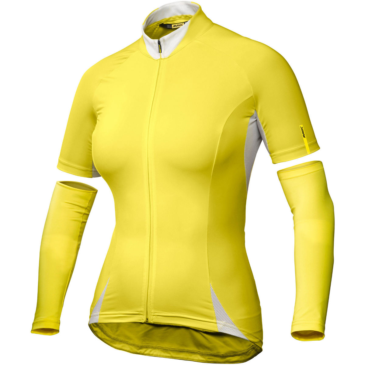 Maillot Femme Mavic Aksium (manches courtes) - S Jaune Maillots