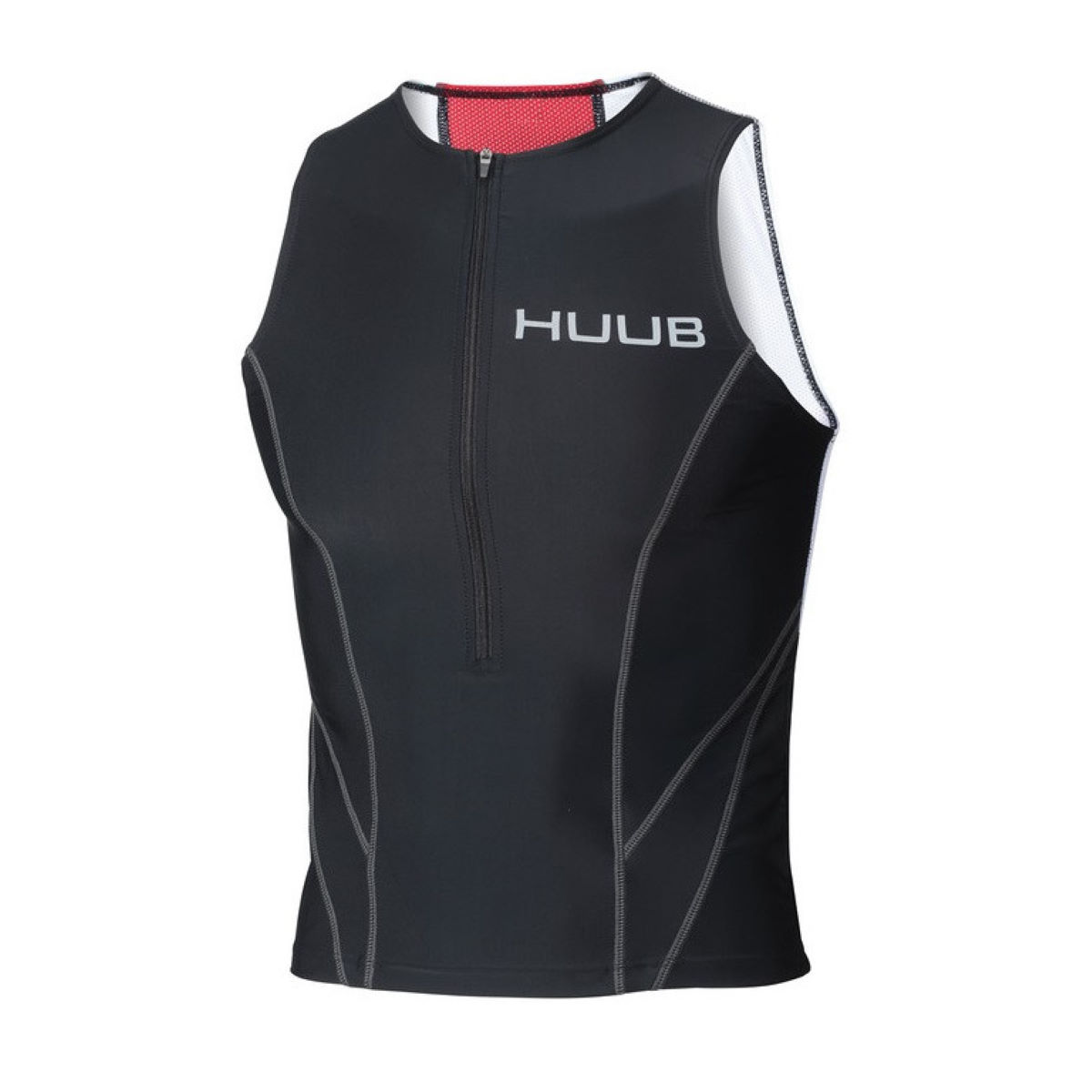 HUB Apparel Men's Essential Tri Top - Small Black | Tri Tops