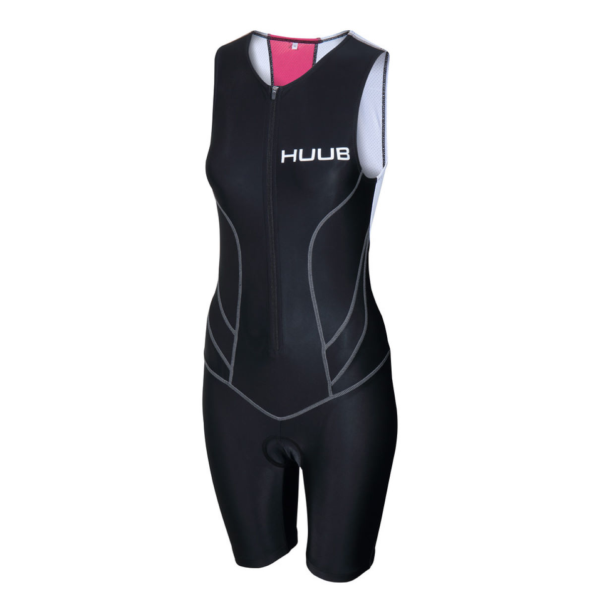 HUUB Women's Essential Tri Suit - Medium Black | Tri Suits