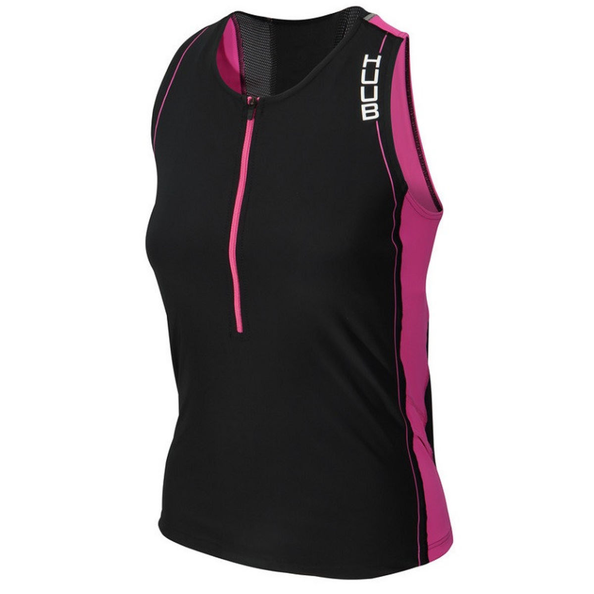 HUUB Women's Core Tri Top - Extra Extra Large Black | Tri Tops