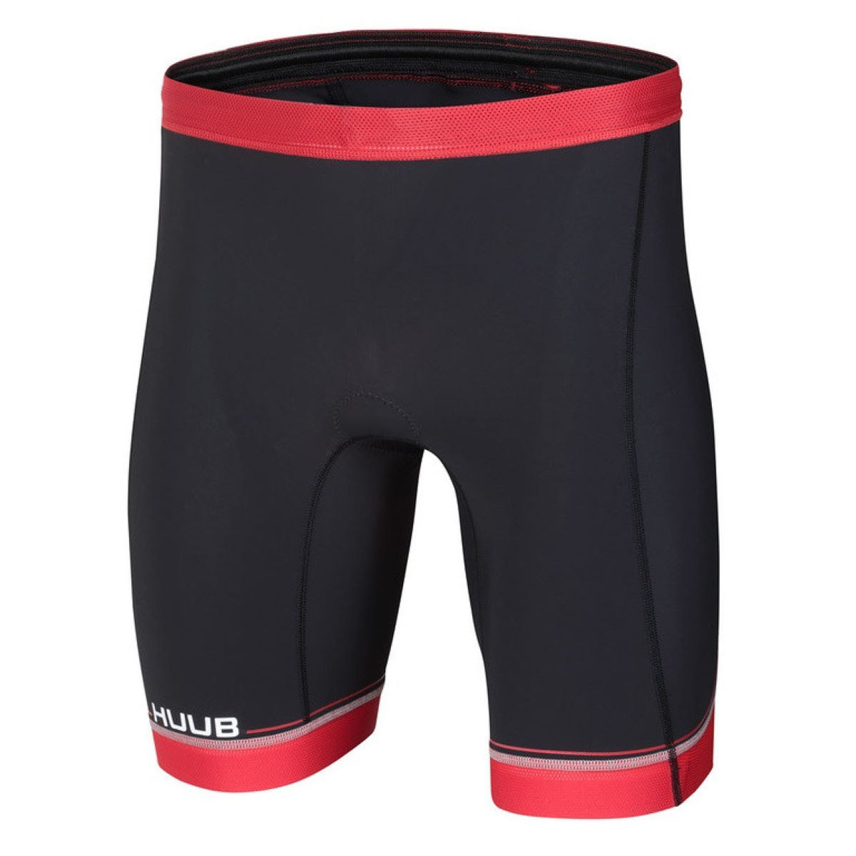 Cuissard court HUUB Core Tri - S Noir/Rouge Shorts de triathlon