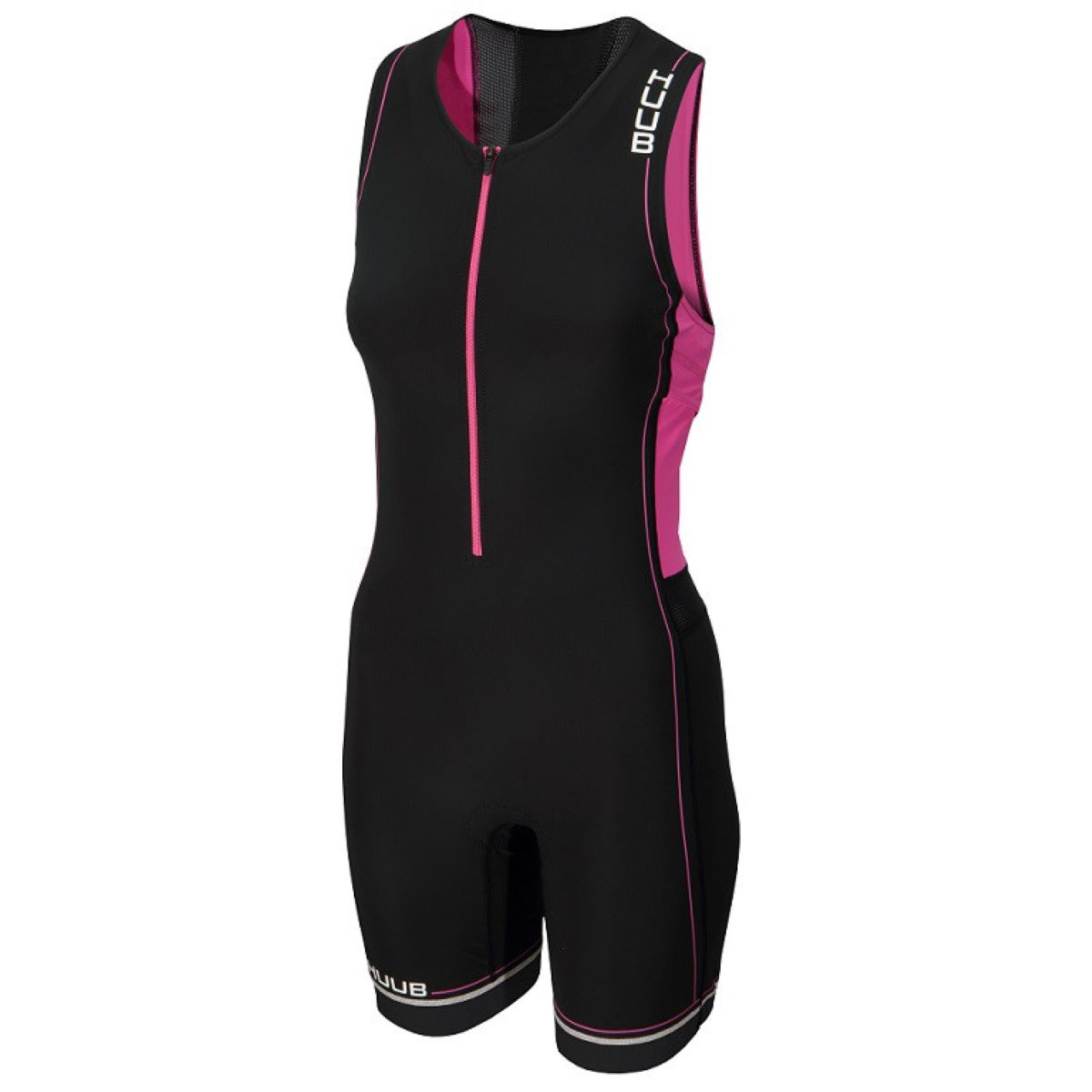 HUUB Women's Core Tri Suit - Large Black/Pink | Tri Suits