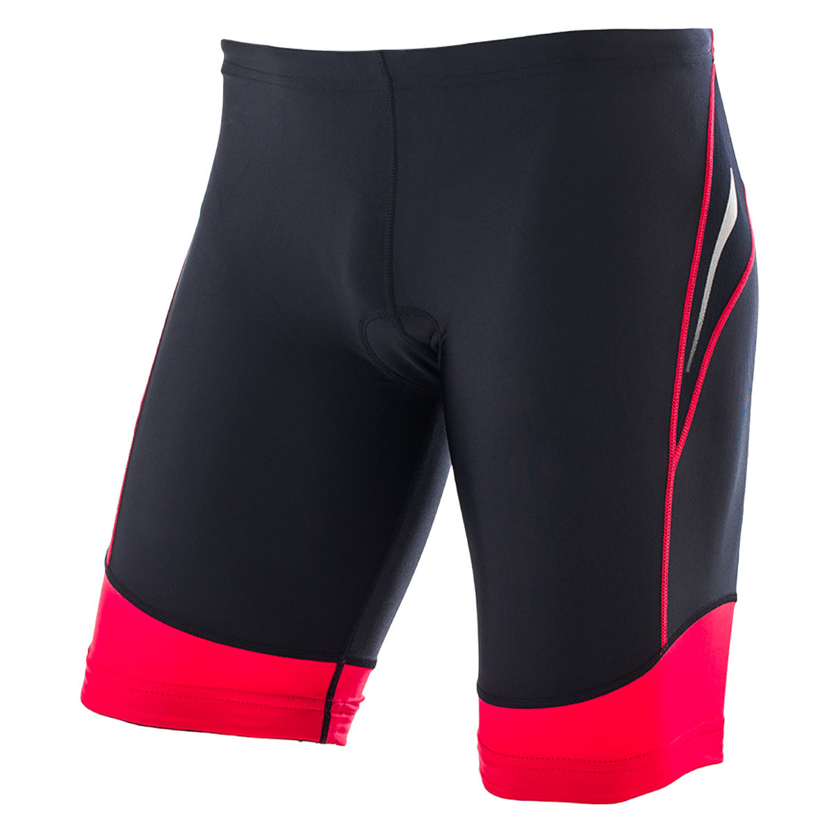 Cuissard court de triathlon Orca Core - XS Black/Poinsettia