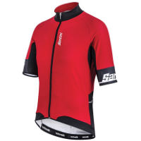 Santini Beta Windstopper Short Sleeve Jersey