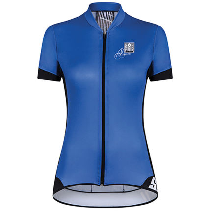 Santini Women's Gold Aero Short Sleeve Jersey