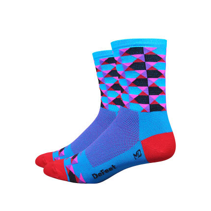 "DeFeet Aireator High Ball 4"" Socks"