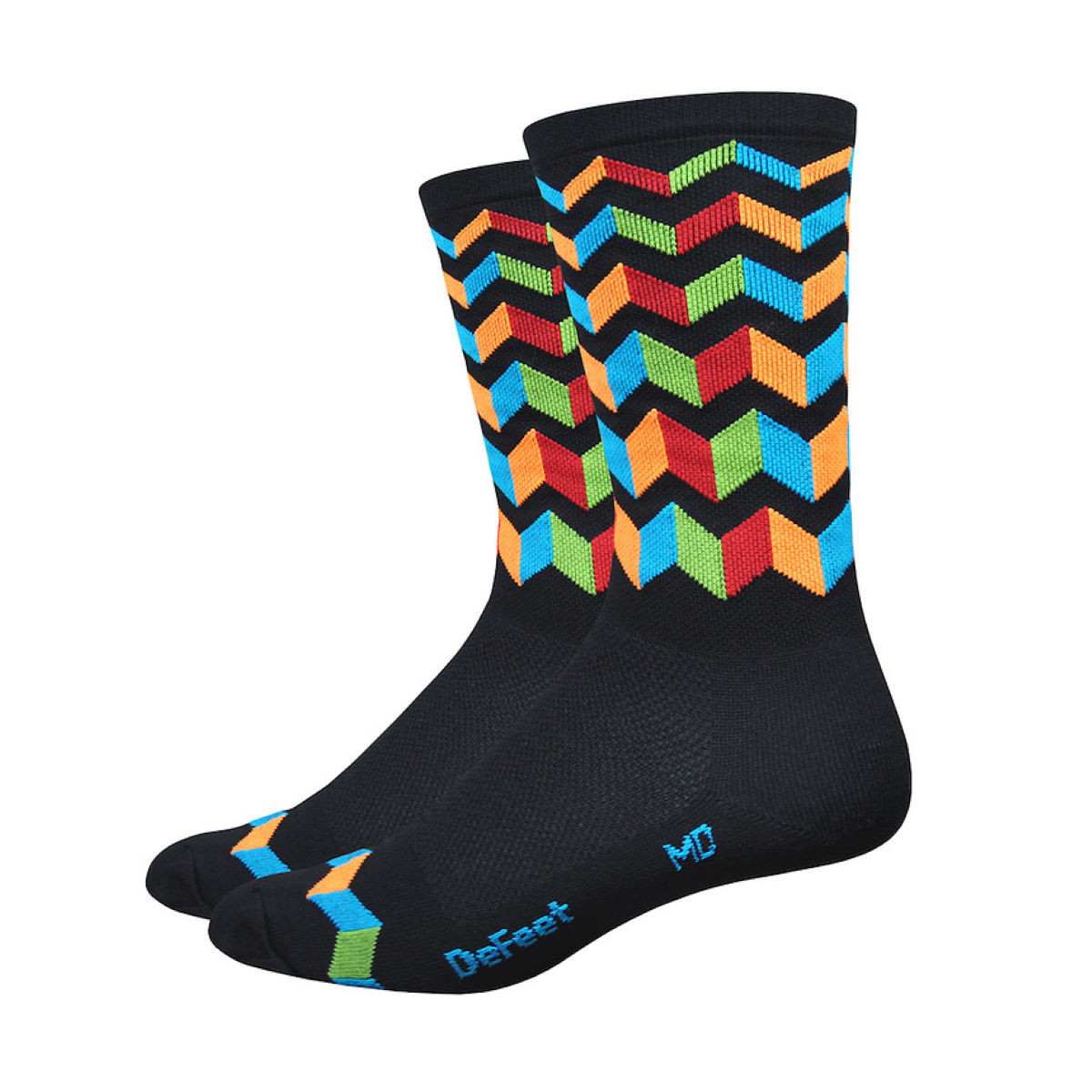 Chaussettes DeFeet Aireator Jitterbug (15 cm environ) - S
