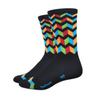 Chaussettes DeFeet Aireator Jitterbug (15 cm environ)