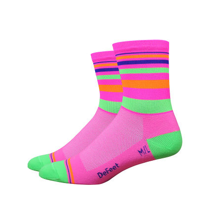DeFeet Saturn Hi Vis Radsocken