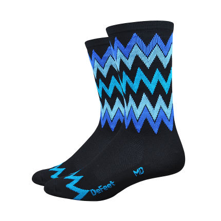 "DeFeet Aireator Speak Easy 6"" Socks"