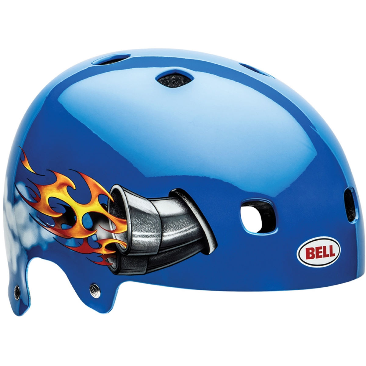 Casque Enfant Bell Segment Solid (2015) - S Blue Nitro Casques Enfant & Junior